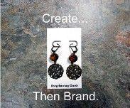 Custom earring cards.