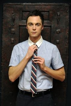 Sheldon from The Big Bang Theory played by Jim Parsons.