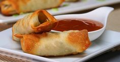 See A Takeout Bill Again - This Copycat Egg Roll Recipe Is Something You Need To Try Copycat Takeout Pork and Vegetable Crispy Baked Egg RollsCopycat Takeout Pork and Vegetable Crispy Baked Egg Rolls Egg Roll Recipes, Ww Recipes, Pork Recipes, Great Recipes, Cooking Recipes, Favorite Recipes, Asian Recipes, Xmas Recipes, Chinese Recipes