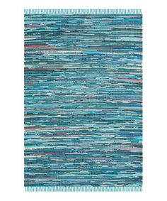 Another great find on #zulily! Blue Cece Area Rug #zulilyfinds
