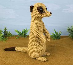 #Crochet meerkat pattern for sale from @planetjune