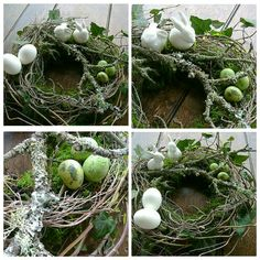 Natur-Kranz für Ostern