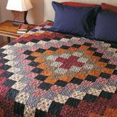 Empire World Quilt Kit from ShopFonsandPorter.com - many colors can be used.