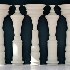Positive And Negative Space - Lessons - Tes Teach Positive And Negative, Negative Space, Positive Images, Illusion Kunst, Street Art, Graphisches Design, Principles Of Design, What Do You See, Foto Art
