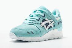 #Asics Gel Lyte III Snowflake #sneakers