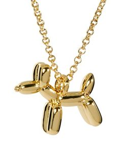 Enlarge Ted Baker Balloon Dog Pendant Necklace