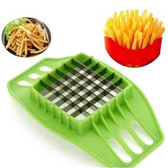 Honana Fries Potato Chip Slicer Fries Potato Maker Fruit Vegetable Chopper Cutte - US$2.64 - Banggood Mobile