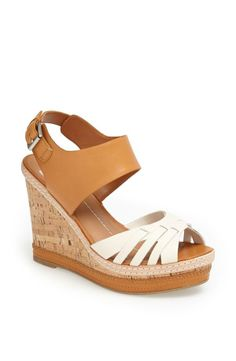 Yay for spring and gorgeous wedge sandals!