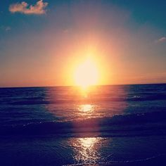 Palm Beach Sunset on Ocean Blvd via @Lilly Pulitzer Instagram