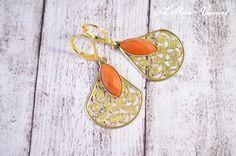 Ohrringe - ✼ Goldtröpfchen ✼ Ohrringe - ein Designerstück von LiAnn-Versand bei DaWanda