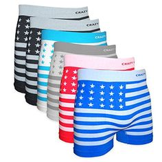 Crazy Cool Men's American Flag Seamless Boxer Briefs Underwear 6-Pcs, One Size Crazy Cool http://www.amazon.com/dp/B01D6S2I2K/ref=cm_sw_r_pi_dp_aRA9wb16RVZHQ