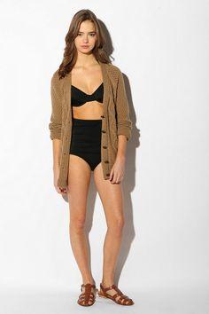 Urban Outfitters Vintage high-waisted bikini bottoms