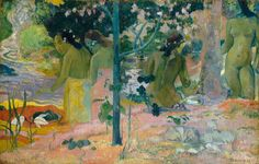 paul gauguin X the bathers