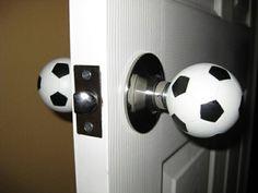 Football door-knob