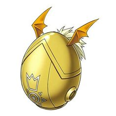 "Digi armor egg of ""Hope"""