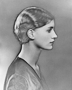 Lee Miller // 1930 // Photographed by Man Ray