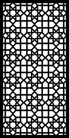 Design Pattern Gallery Stencil Templates, Stencil Patterns, Stencil Designs, Pattern Art, Pattern Design, Laser Cut Panels, Laser Cut Metal, Motif Arabesque, Jaali Design