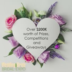 Not only will this be the biggest bridal expo in Australia, we now have OVER $200K worth of prizes, competitions, and giveaways! Make sure to come down to the Wedding & Bride Bridal Expo THIS October the 6th-8th, to get your chance to win some amazing prizes!  Good luck everyone & see you there 👰🏻 🤵🏻  #springbridalexpo #bridetobe #weddingandbride #wedding #bridalexpo #prizesandgiveaways