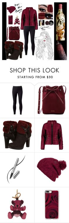"""""""Wine is always a good idea"""" by giselsimon ❤ liked on Polyvore featuring Jockey, Mansur Gavriel, UGG Australia, Boohoo, Chantecaille, Chanel, Volcom, Burberry and Casetify"""