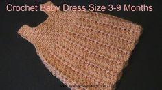 Crochet Baby Dress Crochet Baby Dress YouTube...