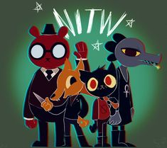 Night in the Woods by TheMinisculeMakahiya on DeviantArt