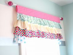 Ruffle Valance - So You Think You're Crafty - for the Lauren babe