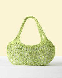 Everyday Market Bag Crochet Purse Pattern | FaveCrafts.com