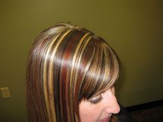 Red and blonde highlights | Red, brown AND blonde highlights together**edited w/ pictures ...