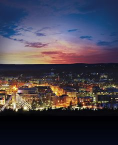 Rovaniemi. I will never, ever, stop loving this beautiful little city <3