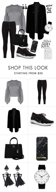 """Sporty Chic"" by daisy-schilder ❤ liked on Polyvore featuring Alexander Wang, Lost Ink, Eileen Fisher, NIKE, Loungefly and Rosendahl"