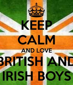 I love british and irish boys