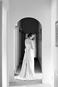 Piper Wedding dress  by Ailsa Munro. Photo by Rachel Rose.