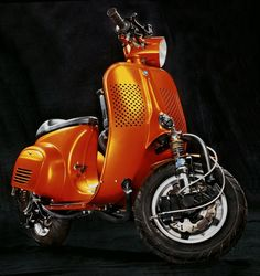 Espresso Racer smallframe Vespa ~ Return of the Cafe Racers