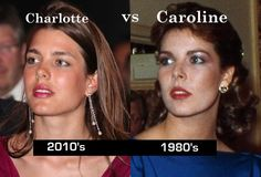 Princess Charlotte & Princess Caroline (daughter & mother)