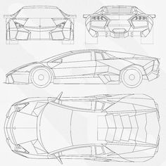 Automobile blueprints car blueprints lamborghini pictures most loved car blueprints for 3d modeling cgfrog graphic web designs photography 3d inspiration photoshop malvernweather Image collections