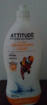 Get some green dishwashing done with this EcoLogo-certified dish soap by Attitude. Its grapefruit and bergamot is so refreshing! Check out the review for more info.