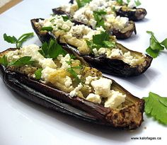 Week 17: Roasted Eggplant with Feta