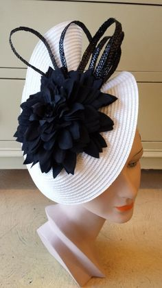 Derby Day hat. by VICTORIA HENDERSON #millinery #HatAcademy #hats