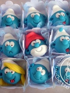 Top Smurfs Cakes Top Smurfs Cakes birthday party girl boys schtroumphs