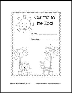 Favorite Zoo Animal Questions. Use with a field trip to