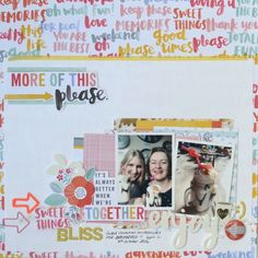 Oh Happy Life.by Amy Tangerine - Hey Little Magpie Scrapbook Page Layouts, Scrapbook Pages, Scrapbooking, Make It Work, Give It To Me, Freckled Fawn, Amy Tan, What Was I Thinking, Heidi Swapp
