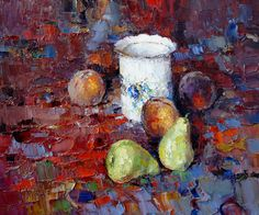 Still-life with the Chinese sugar bowl by Alexi Zaitsev