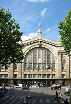 Gare du Nord / North Station, Paris X // just realized how much that side looks like Union Terminal in Cincinnati