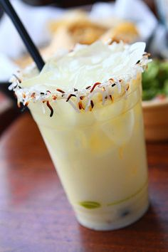 Sammy's Beach Bar Rum Toasted Colada at Cabo Wabo, Planet Hollywood Vegas.