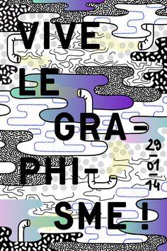Elise Hannebicque, Vive le graphisme, 2014