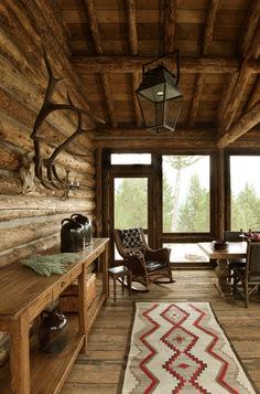 Gorgeous Rustic Cabin Interior Idea (18)