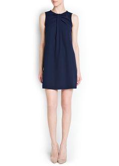 Little navy dress perfection under $100!