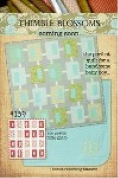 Coming Soon Baby Quilt Pattern