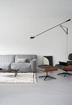 De mooie moderne woonkamer van April and May. - Bron: April and May
