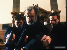 The Boondock Saints publicity still of Norman Reedus, Billy Connolly & Sean Patrick Flanery